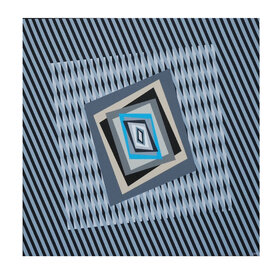Chromatism and op art 180, acrylic colours on canvas, cm. 80 x 100 x 4,5, anno 2015